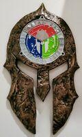 faite pour Spartan médailles Design USA Spartan Race Médaille Display Rack//Support race