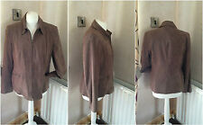 ladies bhs mink brown jacket size 14 very smart