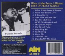 When a Man Loves a Woman: Best of Percy Sledge [Aim] by Percy Sledge (CD, May-19