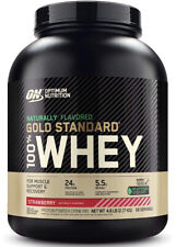 Optimum Nutrition Gold Standard Natural Whey Protein Powder 5Lb, Strawberry