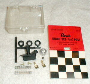 "1 Revell Quick Change Pick-Up Guide Set with 3/16"" Post Complete Kit #R3508 NOS"