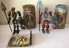 LEGO 8762 & 8763 Bionicle Special Edition Sets with Capsules