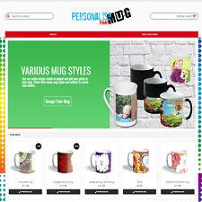Sublimation Mug Website  With Online Designer & Over 200 Templates