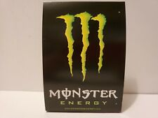 NEW MONSTER ENERGY ALCOHOLIC DRINK RECIPE TABLE TENT UNLOCK THE VAULT PROMO TABS