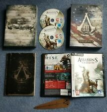 Assassin's Creed III Join or Die Edition - Booklet & 2 Disk Game PC - COLLECTERS