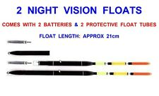 Battery Deep Water Float Fishing Tackle Bobber Fishing Gear with Electrons Vnsport 1pcs Fishing Float LED Electric Float Light