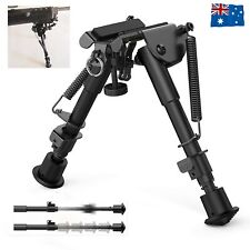 "Adjustable 6""-9"" Height Sniper Hunting Rifle Bipod Sling Shooting Mount Stand AU"