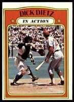 1972 Topps Dick Dietz San Francisco Giants #296