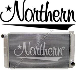 Northern 209657 Aluminum Racing Radiator Universal GM Chevy 26 x 16 Low Profile