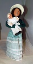 Byers Choice Christmas Caroler Victorian Mother Babu Toddler Figurine 1993 Mint!