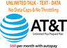 AT&T Prepaid Unlimited Plus Plan - Unlimited Talk Text Data - Bring your device