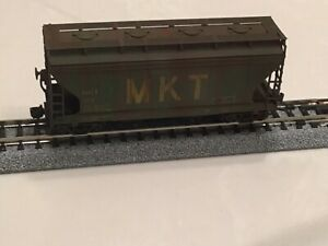 "Intermountain weathered MKT Hopper 66502-22 Missouri Kansas and Texas "" Katy """