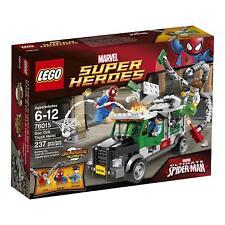 Lego Marvel Super Heroes 76015 Spiderman Doc Ock Truck Heist FREE UK P&P