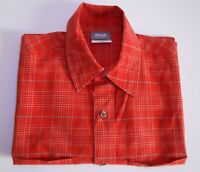 Men's JACK WOLFSKIN Short Sleeve Active Outdoor Hiking Shirt Size S / 44 Red