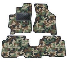 Armee-Tarnungs Autoteppich Autofußmatten Auto-Matten für Kia Carens 2002-2006