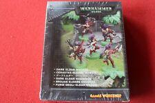 Warhammer 40k Dark Eldar Wyches Squad Nuevo Y En Caja Nuevas Figuras De Metal WH40K fuera de imprenta Wych GW