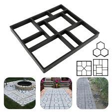 New listing Reuse Garden Path Maker Mold Diy Paving Cement Brick Stone Road Concrete Mould U
