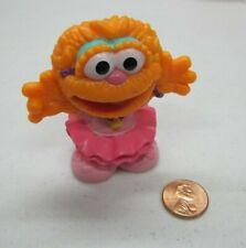 "New SESAME STREET ZOE BALLERINA PINK TUTU 3"" Cake Topper Figure TOY PVC 2010"