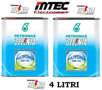 4 LITRI OLIO MOTORE SELENIA MULTIPOWER 5W40 GAS GPL METANO 4 LT BLACK FRIDAY