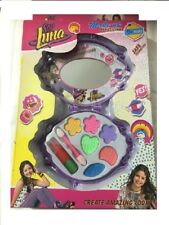 Soy LUNA Ragazze Make Up Set Con Custodia & Specchio per vestire ROSSETTO GLOSS Natale