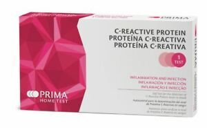Prima Home C-Reactive Protein CRP Test for Inflammation and Infection