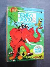 SPIROU ET FANTASIO  EO  Dos Rond  TEMBO TABOU  T.24