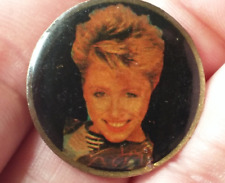 Gina Schock lapel jacket pin pre-owned The Go Go's