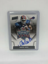2015 Panini Andre Reed Super Bowl XXVII On Card Auto #d 23/150 Bills Autograph
