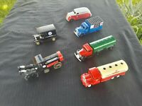 Lot Of 6 Diecast LLEDO Exclusively Made For Chevron Promotional #'s 13-18
