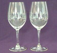"""Signed Riedel Vinum Bordeaux Crystal Wine Glasses 8 7/8""""  18oz. - Set of 2"""