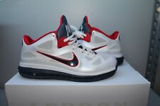 Nike LeBron 9 Low USA Olympic white Obsidian size 11 South Beach