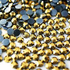 HOTFIX IRON ON GLASS RHINESTONES DIAMOND GEMS H. QUALITY DECORATION CRAFT BEAD