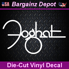 Vinyl Decal ... FOGHAT ... Band Car Laptop Sticker Vinyl Decal