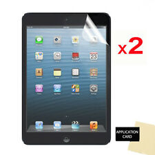 2 x CLEAR LCD Screen Protector Guards for Apple iPad Mini 2 with Retina Display
