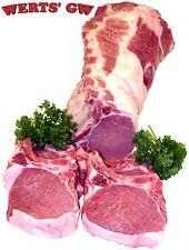 "Eight 10 oz. Rib Cut Pork Chops-1.25"" Thick-Nebraska Processed-Certified Pork"