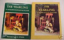 Yearling, M. K. Rawlings, N.C. Wyeth, Scribners, DJ, 1963 Edition