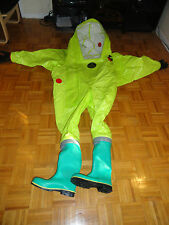Chemical Hazmat Respirex Tychem Tk Gas Tight Suit Type 1a With Attached Boots