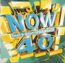 2 CD Set  ~ NOW 40 - Various Artists ~ 98 IMPORT - UK