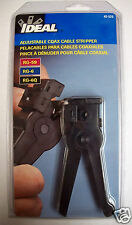 Ideal Adjustable Coax Cable Stripper 45-520
