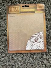"""Crafters Companion Vintage Christmas Collection Embossing Folder Brand New 6x6"""""""