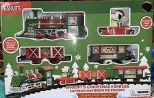 Peanuts Snoopy Holiday Express 12 Piece Christmas Train Set NEW!