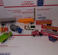 Vintage Tyco Slot Car 2 Dump Truck, Semi Truck and Pickup Truck Lot