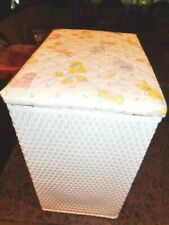 New listing Doll Baby Laundry Hamper teddy bear Nursery Decor Badger Basket Co Wicker Look