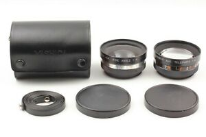 YASHICA Conversion Wide and Telephoto Lens for Electro 35 From Japan 【Exc +5】