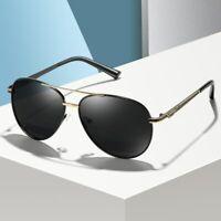 Men Polarized Sunglasses Male Metal Driving Sun Glasses Coating Shades Eyewear