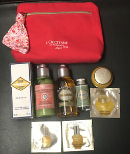 l'occitane gift set 8 items In Cosmetic Bag