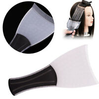 Pro Salon Hair Dye Comb Board Barber Hairdressing Highlight Color Tinting Brush