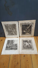 The Life of Christ x4 Antique Engravings, 1811 - The Wise Men, Magi & Star,