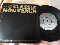 """Classix Nouveaux - """"Is It A Dream""""  7"""" single - FAIR/VG - ****SEE NOTES !!!****"""