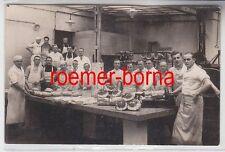 75885 Foto Ak Koblenz Metzgerei Fleischerei Mitarbeiter um 1920